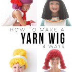 Yarn Wigs for Halloween!