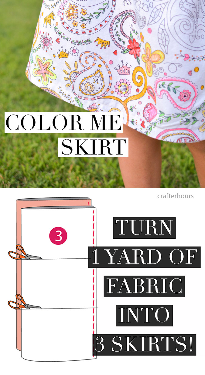 Coloring skirt by-crafterhours