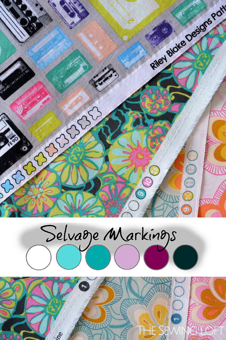 How to decode Selvage Markings