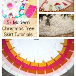 5+ Modern Christmas Tree Skirts