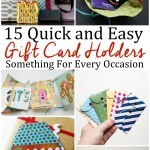 15 Easy DIY Gift Card Holder Tutorials