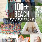 100+ DIY Things  to Make For The Beach