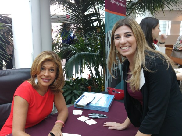 Meeting Hoda!! :)