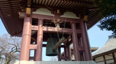 The bell tower was the first thing we saw when we entered the temple's premises. It is one of the biggest I saw among my travels.
