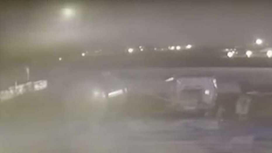 New Video Footage Shows Iranian Missiles Striking Ukrainian Plane 3