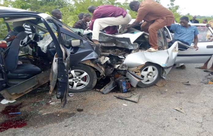 5 dead, four critically injured in a head-on collision in Kano