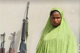 Police nab 28-year-old female kidnapper, recover five AK47 rifles, vehicle 1