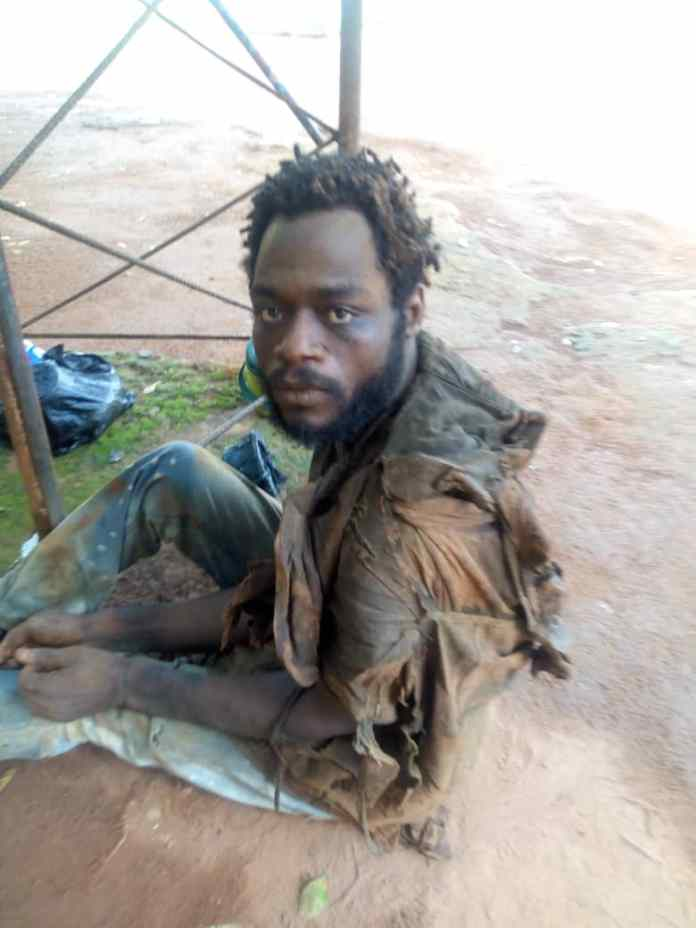 Police nab middle aged man who butchered father in Anambra [Photo] 1