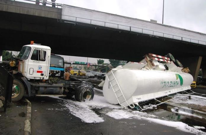 Eight killed in multiple accidents involving six petrol tankers in Kwara