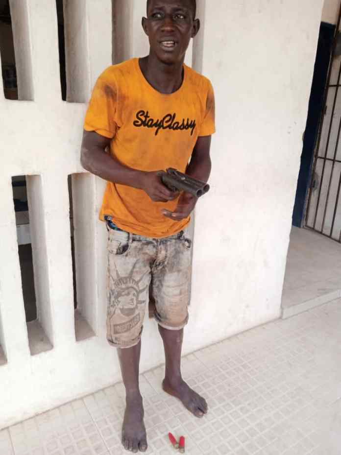 Police nab 24-year-old man who specialises in snatching motorcycles at gunpoint in Nnewi 2