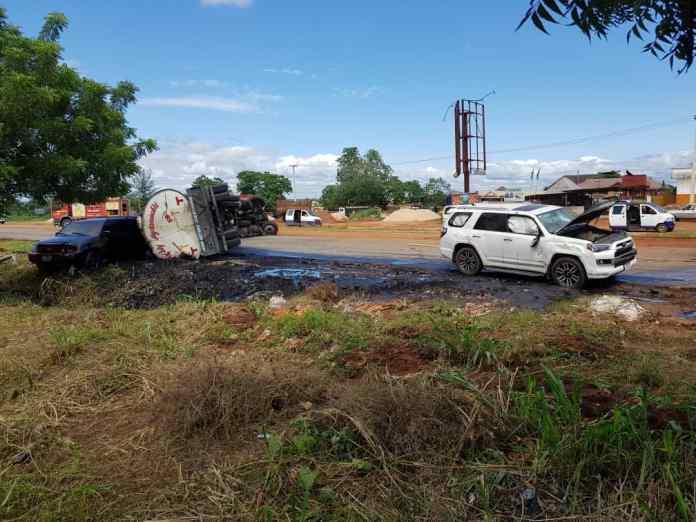 11 escape death, 3 injured in Anambra multiple crash 1