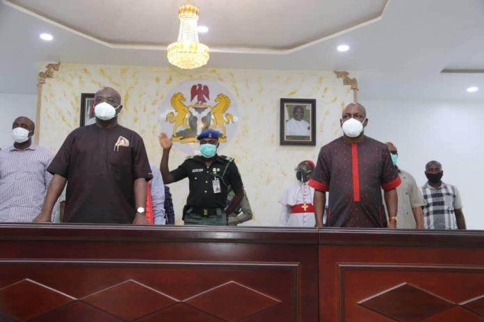 Ikpeazu Inaugurates Management Board Of The Aba Shoe Factory… 1