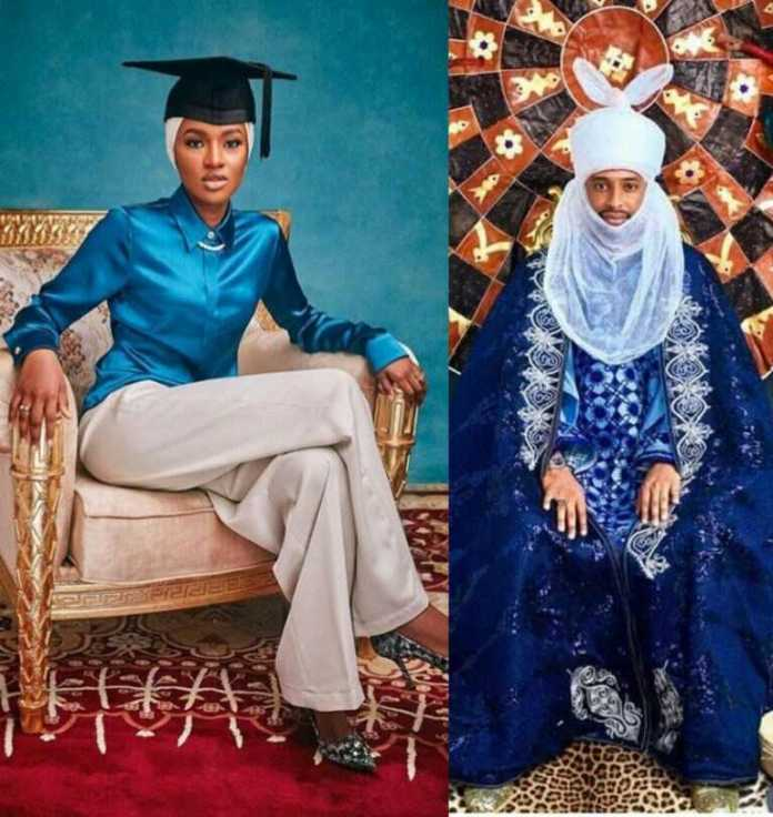 Wedding Invitation Of President Buhari's Daughter, Hanan, 22, to Turad Sha'aban Is Released 1