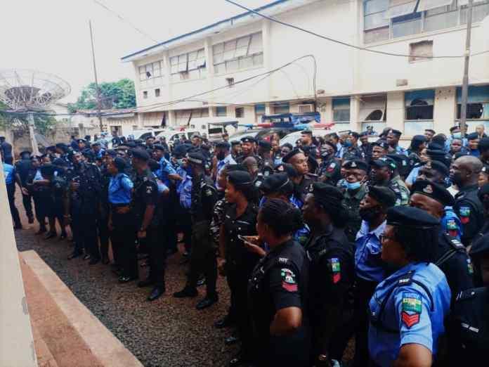 Breaking! Enugu Deploys 450 Policemen To Edo For Saturday Election 1