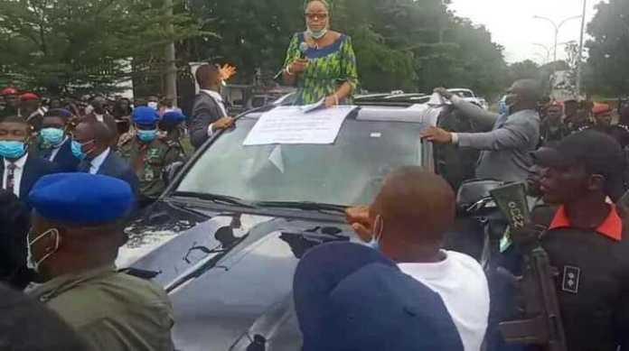 Celebrities, Enugu State Deputy Governor, others joins #ENDSARS Protest 2