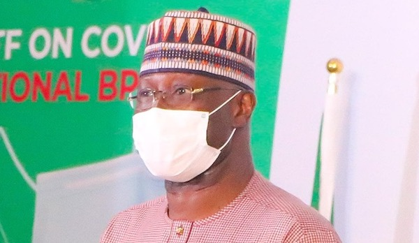 Federal government to conduct 450 COVID-19 tests in each LGA -PTF Chairman 3