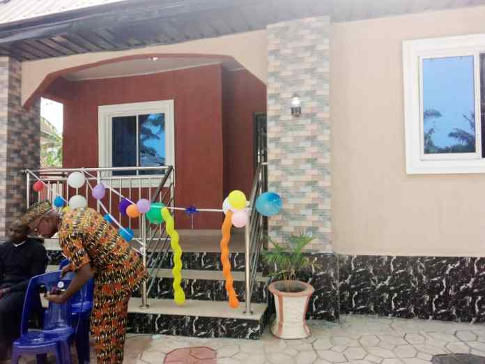 Chinedu Ubah empowers Widow with 3 Bedroom apartment 1
