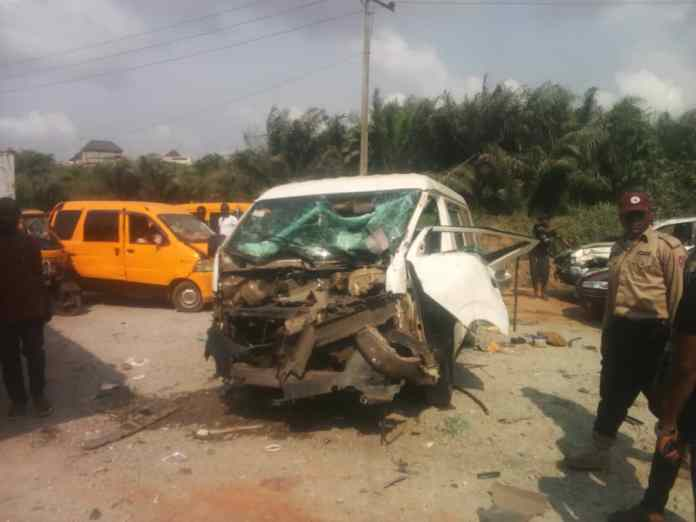 Injured victims refuse treatment as 27 escape death in Anambra multiple accident 2
