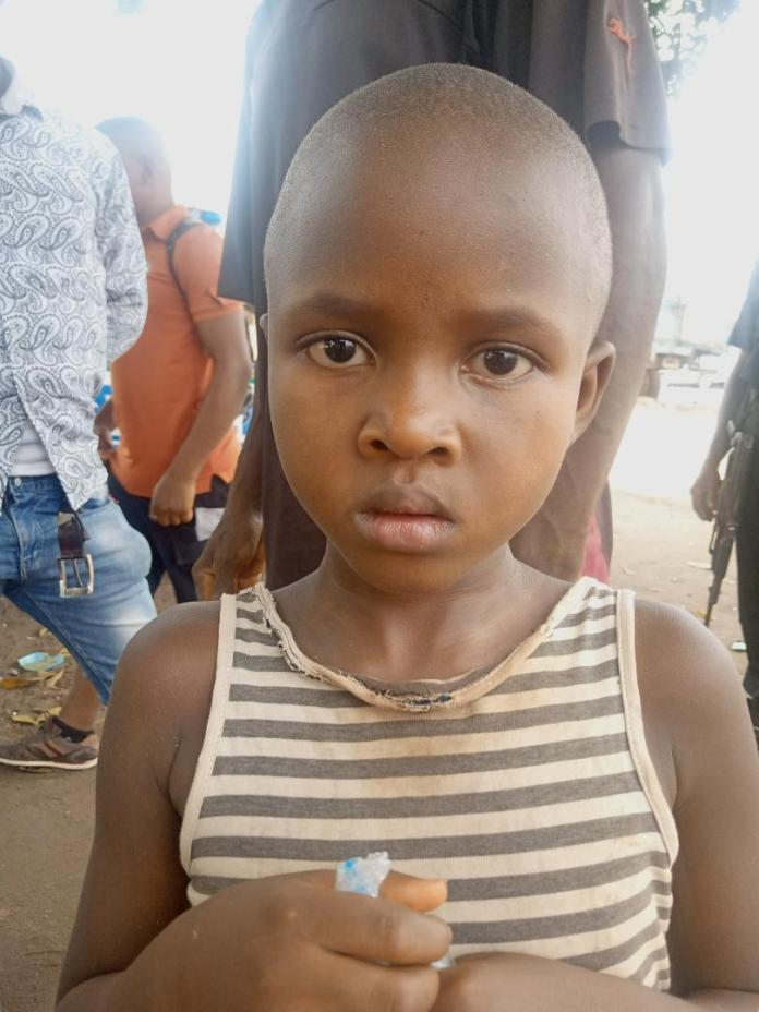 Missing child found in Ogbunike, Anambra State 1