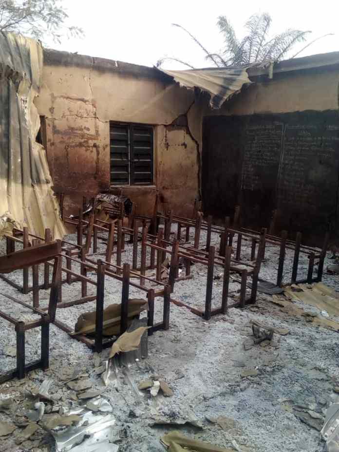 Fire guts Primary School in Enugu…community seeks Govt assistance 1