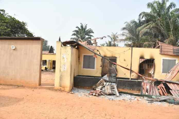 Enugu deploys armoured tank as community goes up in flames…25 houses burnt 3