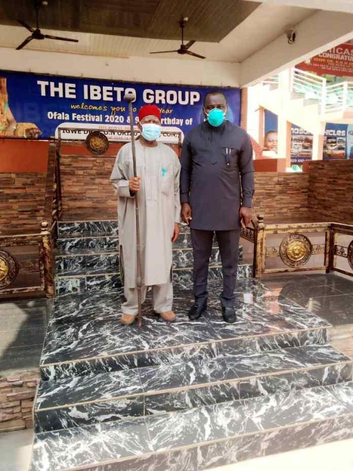New NAUTH CMD embarks on courtesy visit to Igwe Nnewi, Igwe Oraifite, others 2