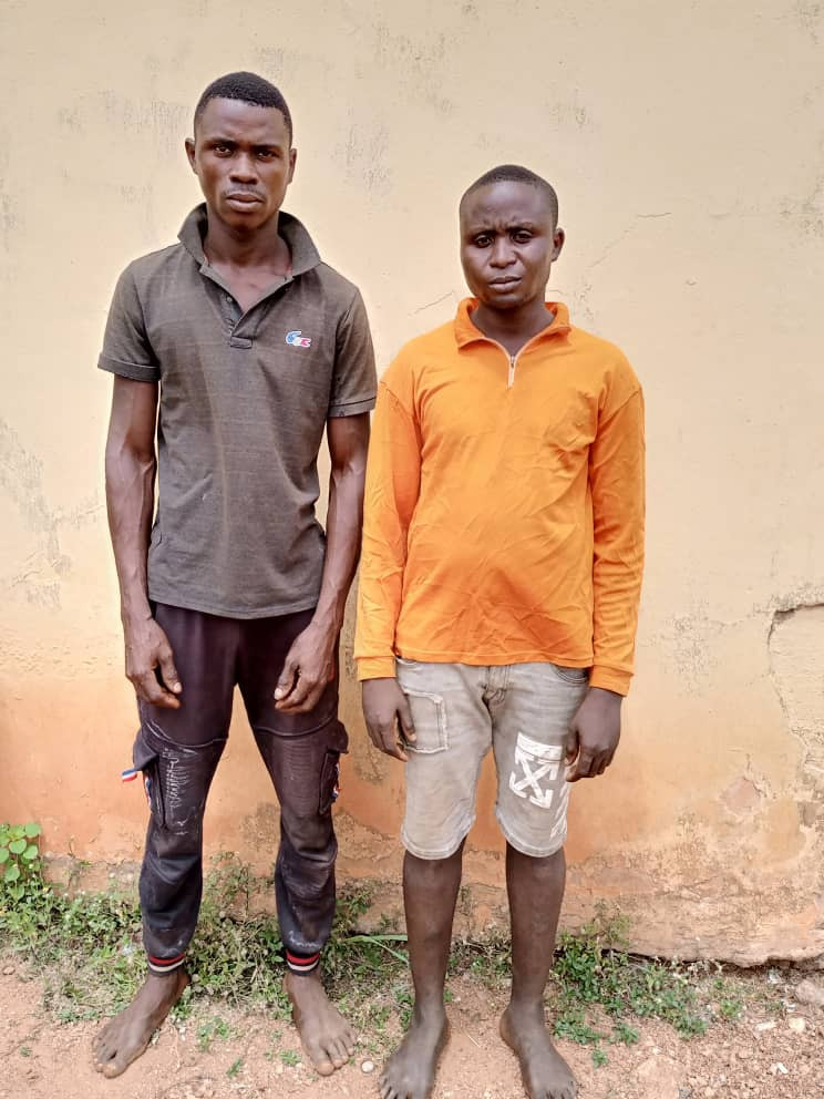 Money Ritual: Herbalist, Bricklayer arrested for allegedly killing housewife, 4-Year-Old Son in Ogun 3