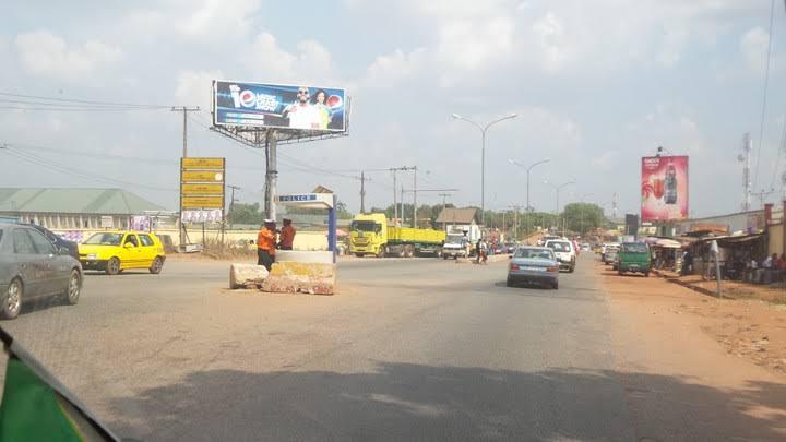 Enugu shuts down Abakpa T-Junction as construction of flyover begins 3