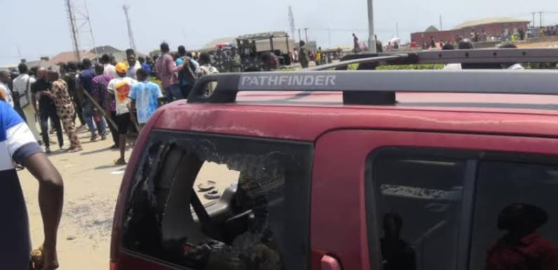 LASU unrest: Soldiers in OP MESA vehicle drove away from school gate before the attack 3