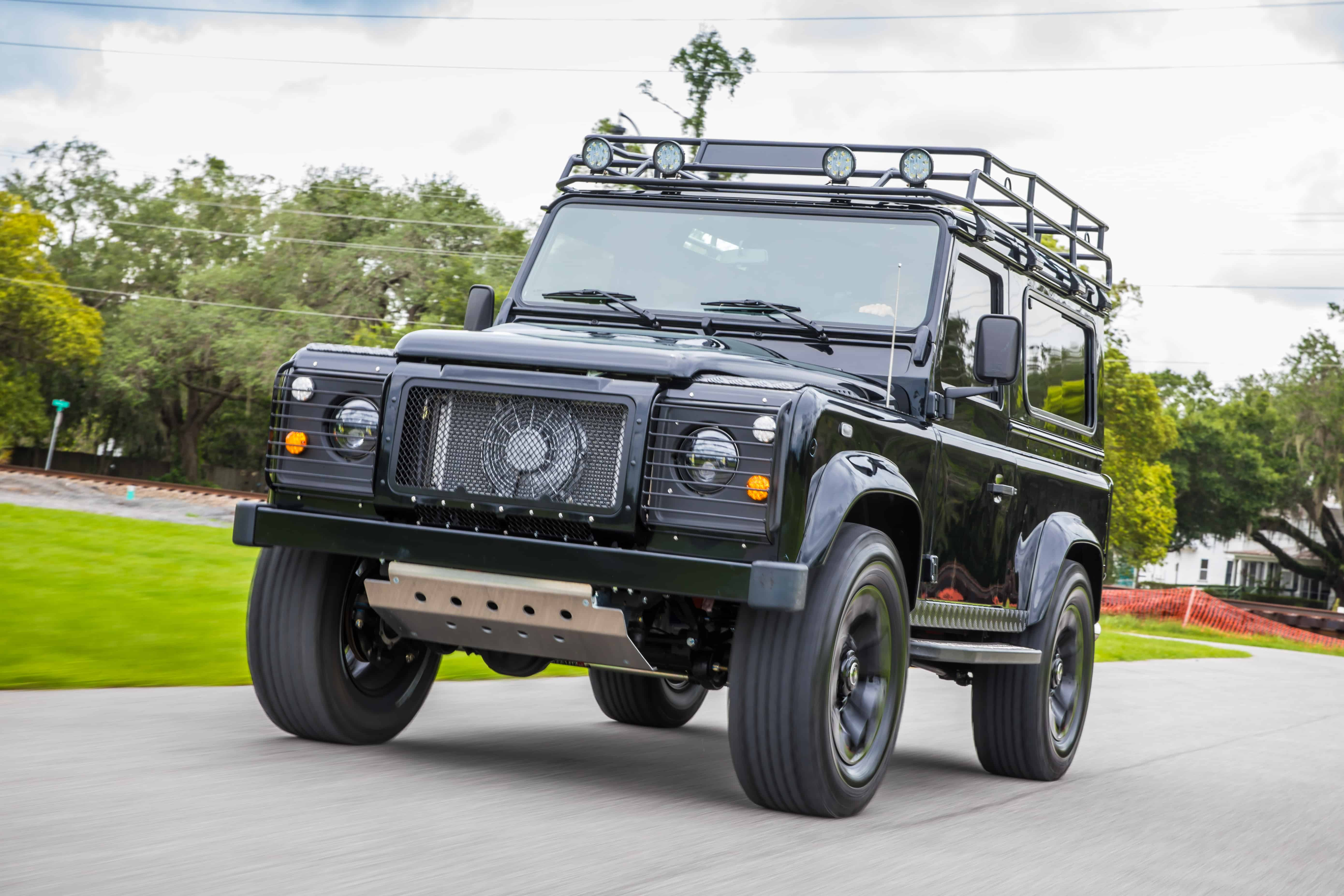 East Coast Defender Project Blackout Is Awesomely Murdered Out