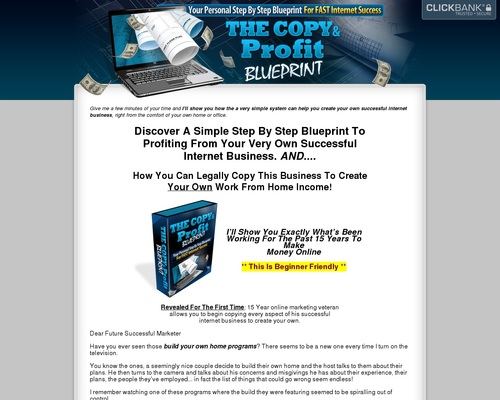Copy and profit blueprint the daily whats up copy and profit blueprint malvernweather Images