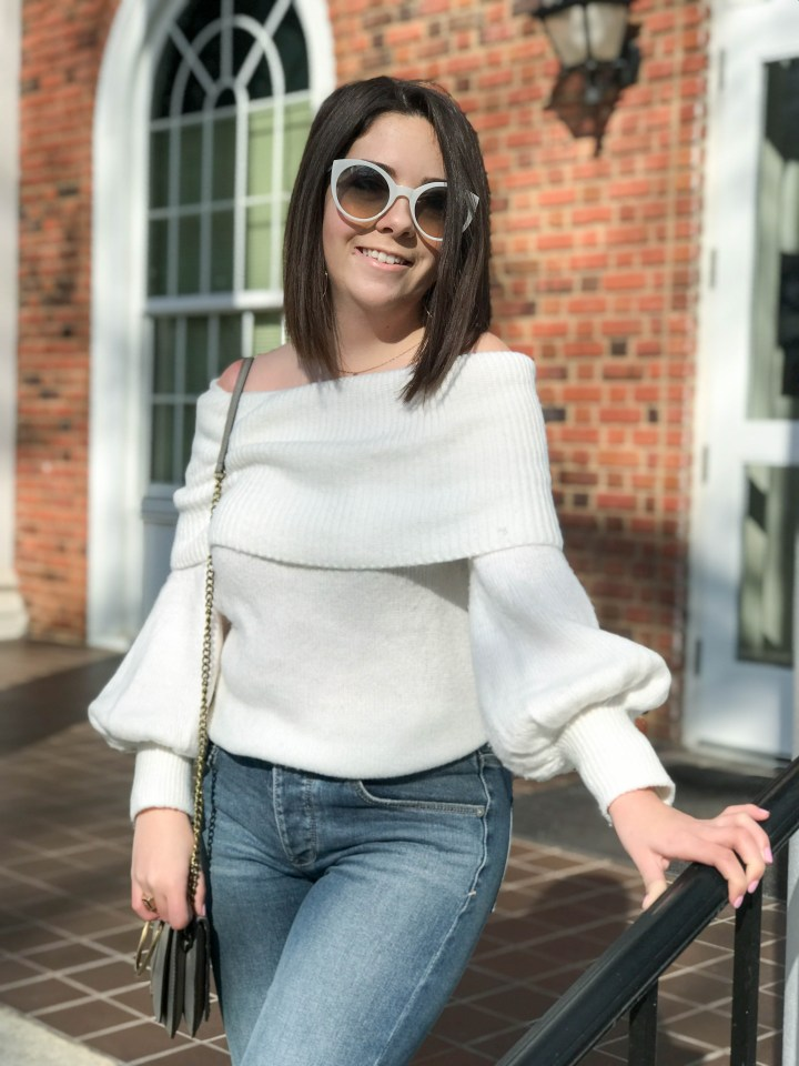 sequin flare jeans 3