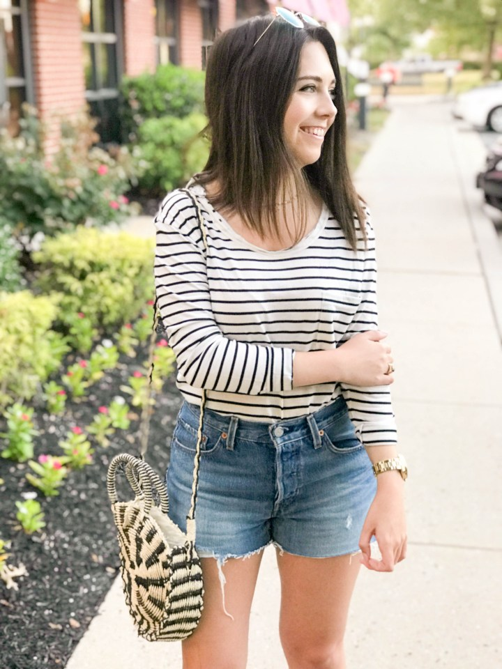 Striped Tee and Booties