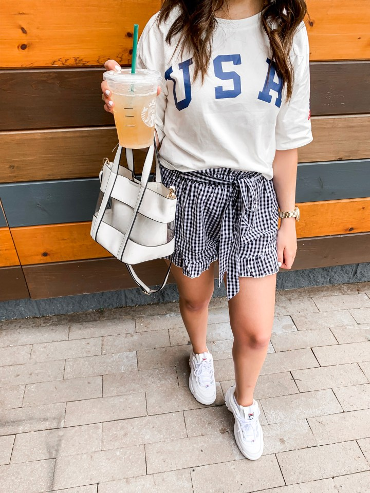 how to style summer shorts up and down 13