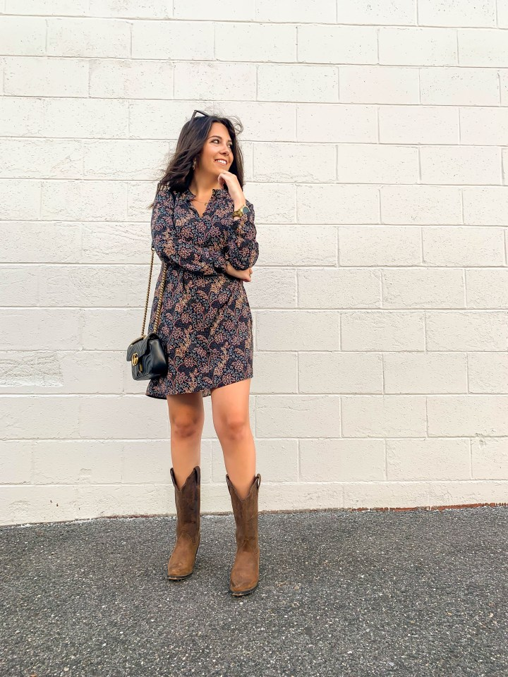 A Versatile Dress for Fall
