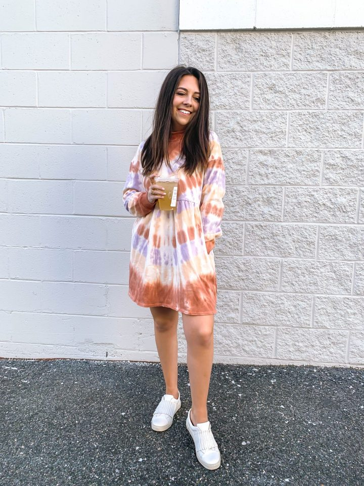 Tie-Dye Dress for Under $25