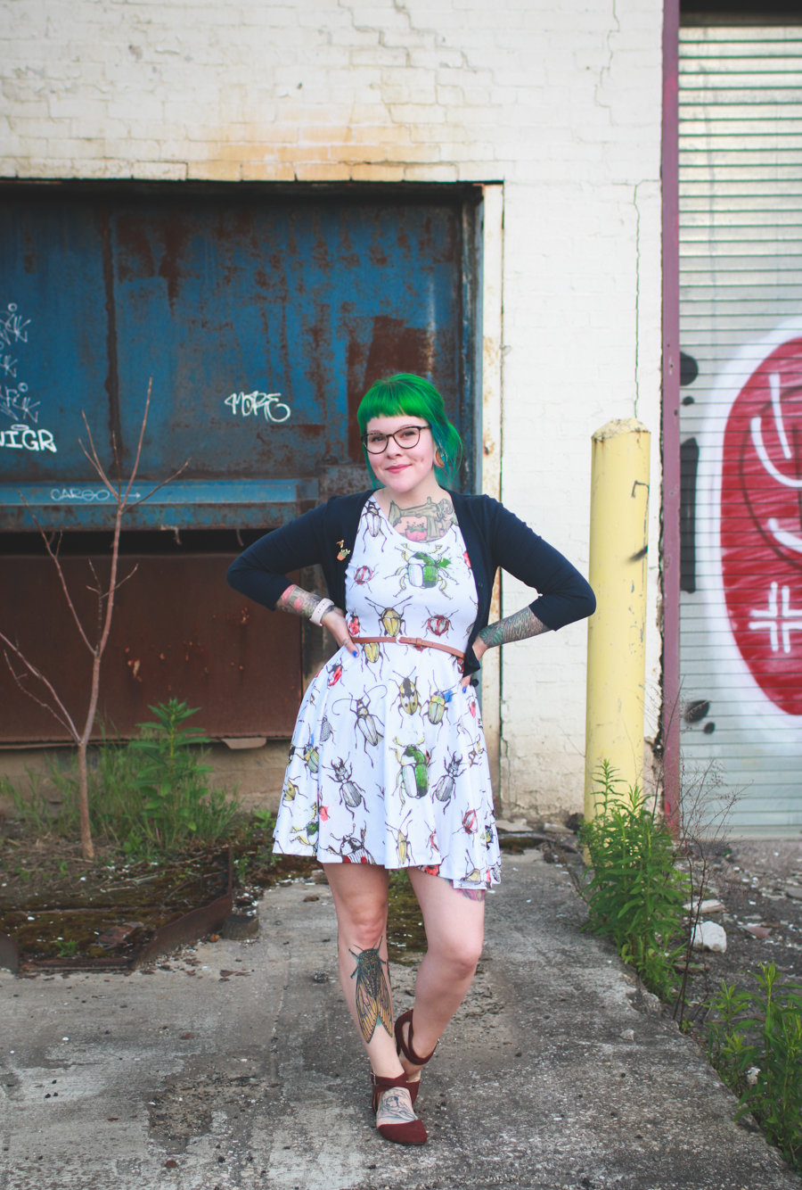 warby parker, cleveland fashion blog, what I wore,