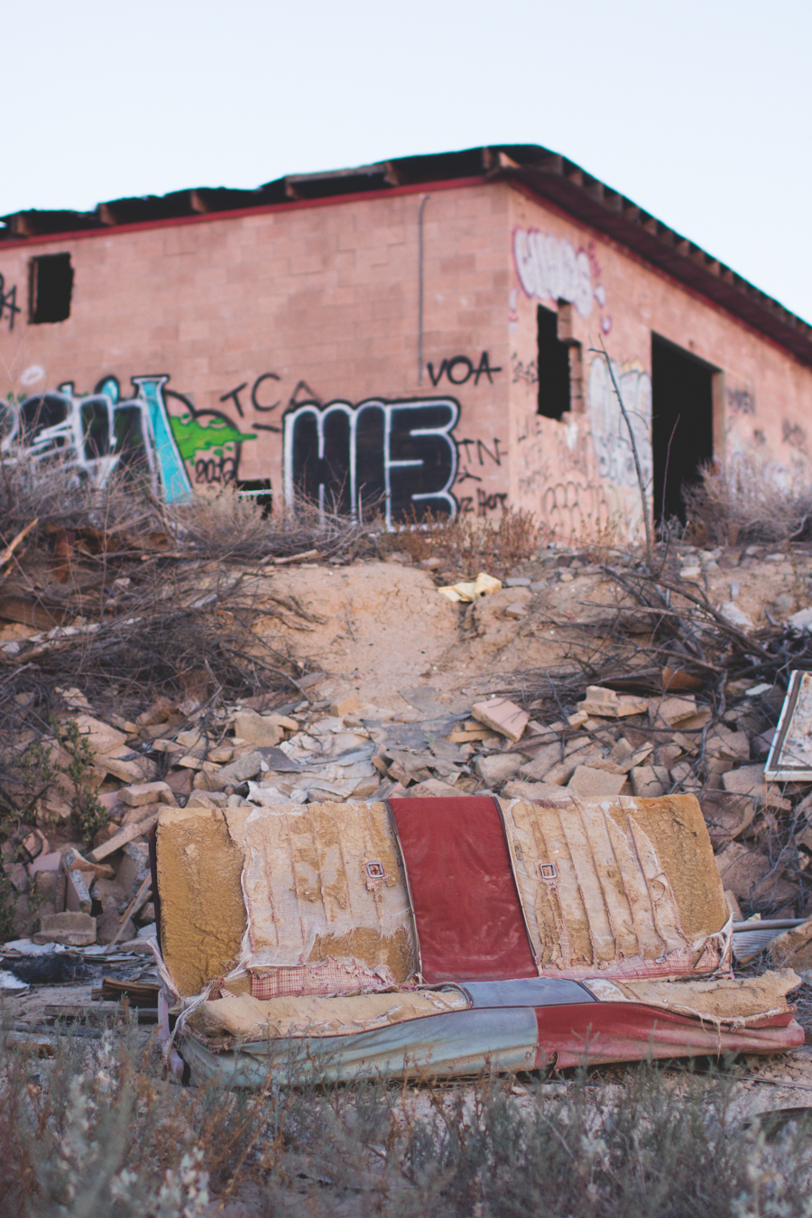 salton sea, abandoned building,