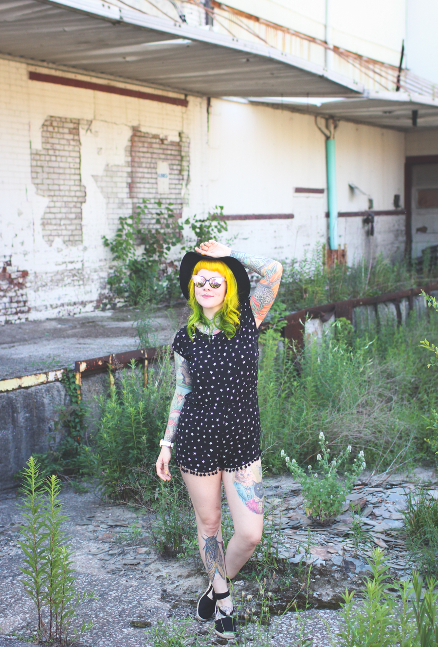 yellow hair, fashion blog, cleveland blog, outfit post, ootd, the dainty squid