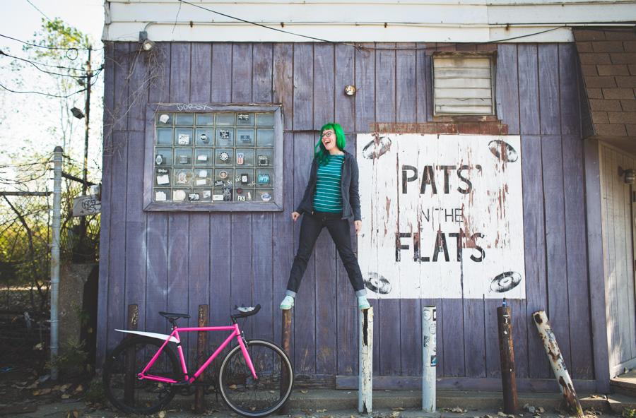 cleveland blog, kaylah doolan, bike style, cleveland, pats in the flats