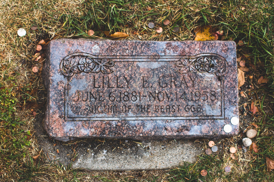 lilly e gray, salt lake city cemetery
