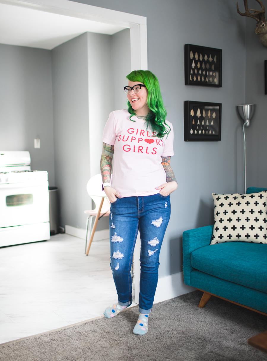 the dainty squid, kaylah doolan, cleveland fashion blog