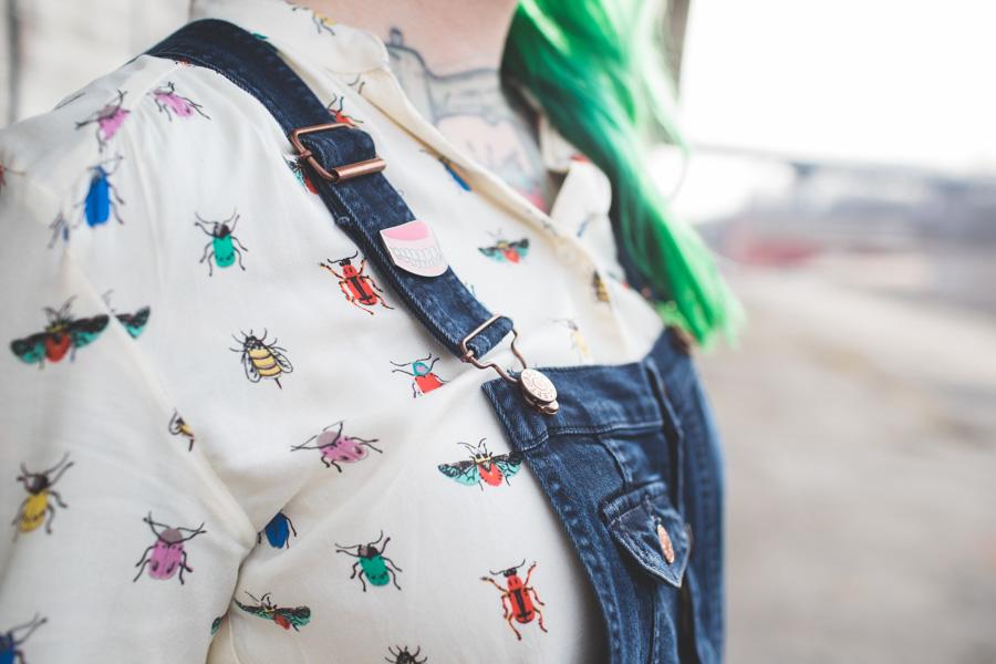 beetle blouse