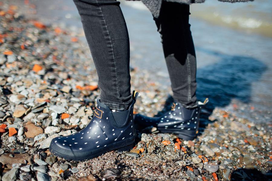 Joules rain boots