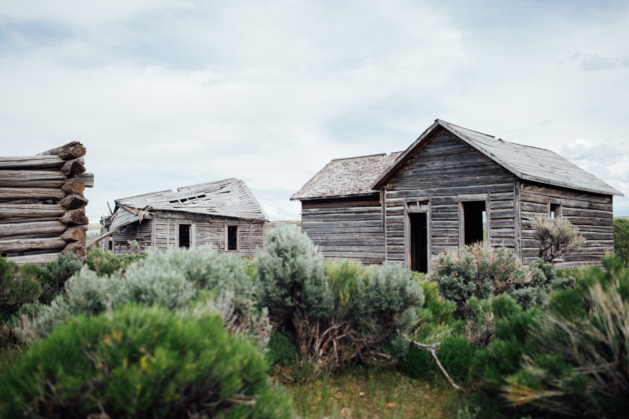 Wyoming Ghost Town