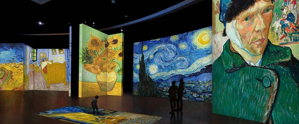 Van Gogh Alive, l'expérience