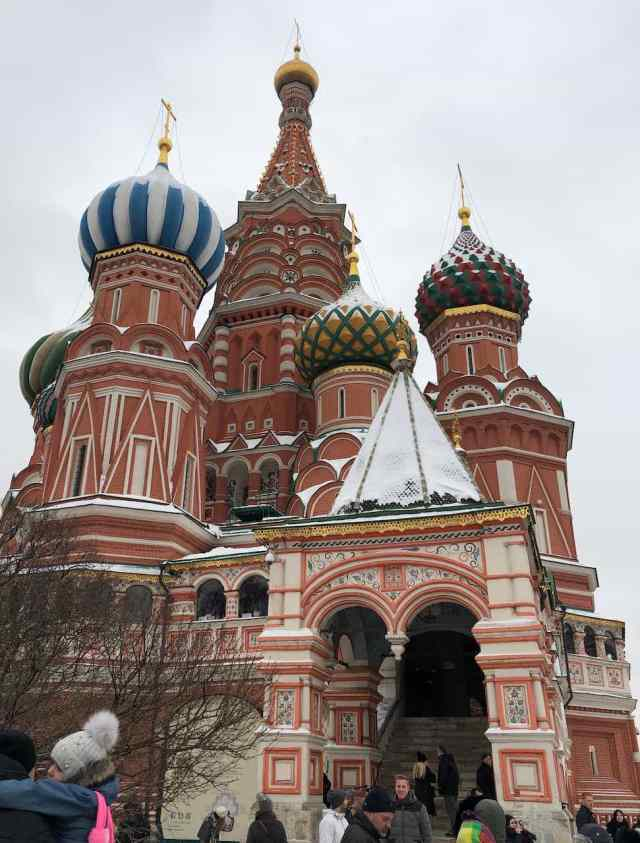 St Basils Cathedral in Moscow