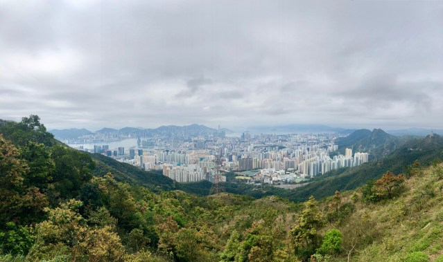 View from Kowloon Point  Suicide Peak Hike Hong Kong  www.thedancingcircustraveller.com