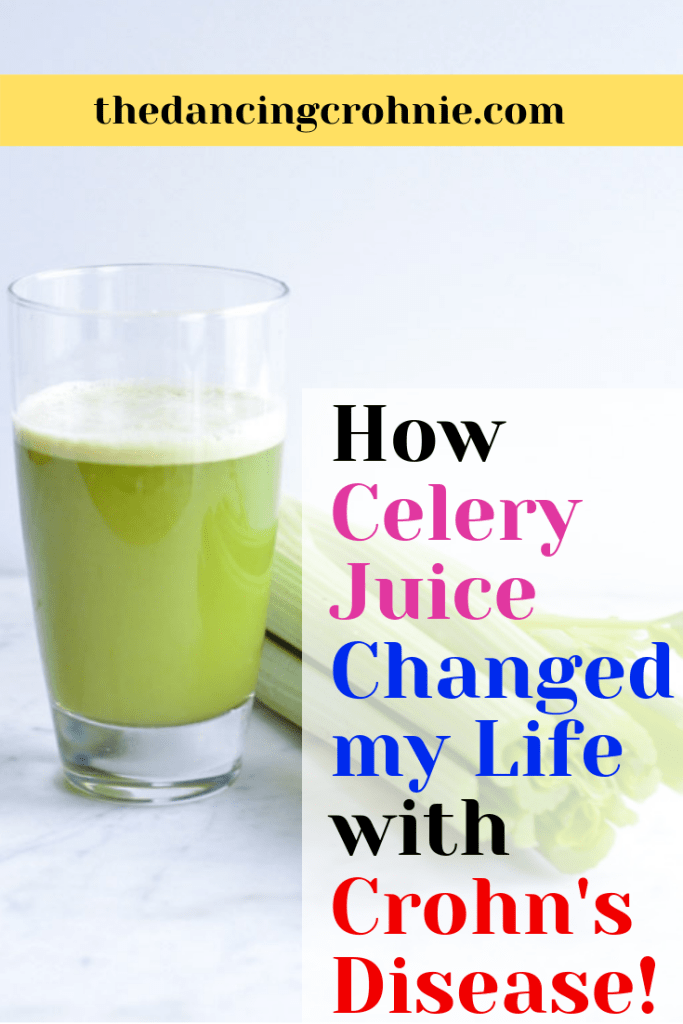 How Celery Juice Changed My Life with Crohn's Disease! - the dancing