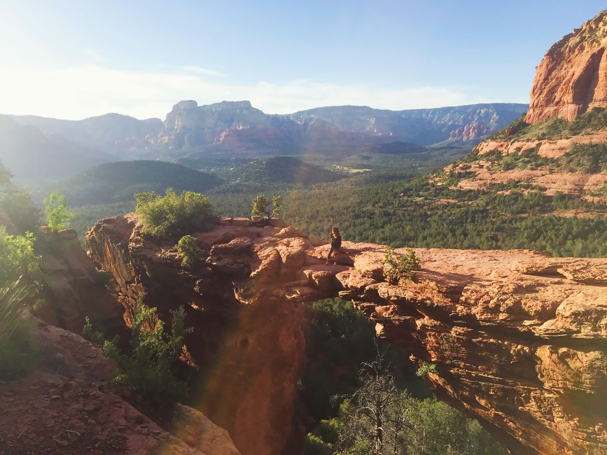 Trails and Tales: Hiking Devil's Bridge in Sedona